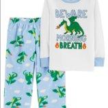 пижама для мальчика 3Т,4Т,5Т Carters флис