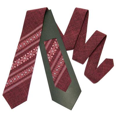 Модна вишита краватка