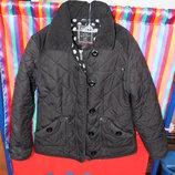 Демисезонная стеганная куртка Next р.140
