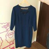 Дорогое классическое платье от reserved размер 38-40