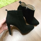 Классические ботильоны ботинки 39 размер Zara