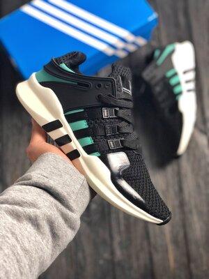 Мужские черные кроссовки adidas eqt 41-45