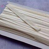 Бейка-Резинка простая,цвет бежевый ,2 см-1 м