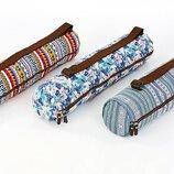 Сумка для йога коврика чехол для фитнес коврика пробковый Yoga bag 8365 размер 15х65см