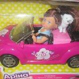 Машина Жук-Кабриолет с куколкой Арина