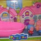 Домик Пеппы с ванной