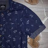 Rebel Рубашка джинсовая 140 см 9-10 л