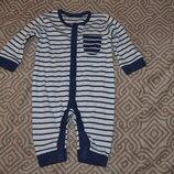 слип человечек пижама 0-3 мес рост 50-62 George Англия