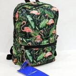 Рюкзак, ранец, городской рюкзак, спортивный рюкзак, маленький рюкзак, фламинго