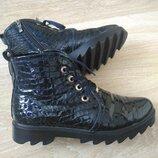 Ботинки кожаные Braska 38р.