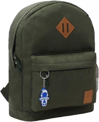 Рюкзак городской Bagland Молодежный 17 л хаки зеленый болотного цвета мужской женский