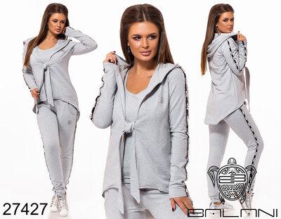 c2da380ace49 Стильный спортивный костюм тройка: 925 грн - женские спортивные ...