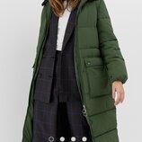 Зимнее пальто на синтепоне Stradivarius NEW col