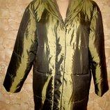 Демисезонная удлиненная курточка пальто оверсайз Jacqueline Riu р.1/S-XL