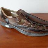 Мужские летние туфли босоножки