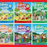 Новый комплект цветная копия Family and Friends starter 1,2 3 4 5 6 Все уровни
