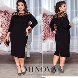 Новое шикарное черное платье