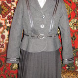 Суперский эксклюзивный нарядный школьный костюм на 1-3 класс