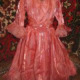 Красивое нарядное платье из органзы, универсальный размер