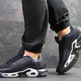 Nike Air Max TN кроссовки мужские демисезонные темно синие 7264