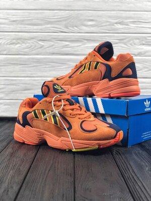 Мужские оранжевые кроссовки adidas yung 1 41-45