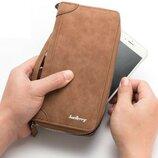 Портмоне - кошелек Baellerry Euro,светло коричневый.