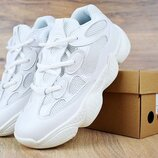 Кроссовки женские Adidas Yeezy 500 white