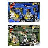 Набор полиции/ военного 33390-33400 - пистолет, автомат