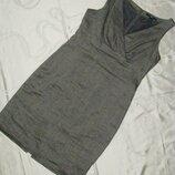 H&m платье футляр стального цвета