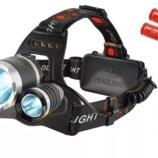 Налобный фонарь, ліхтар, для охоты и рыбалки на голову. Польша. И.
