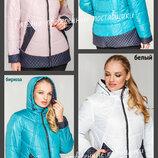52-62 Женская демисезонная куртка, большие размеры. Женская курточка. куртка деми, ботал размеры