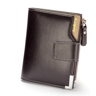 Мужской бумажник Baellerry Carteira Mini коричневый