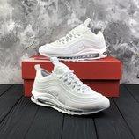 Женские белые кроссовки nike air max 97