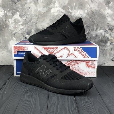 Черные мужские кроссовки оригинальные new balance lifestyle 420