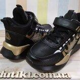 Ботинки - кроссовки для девочек в стиле supreme