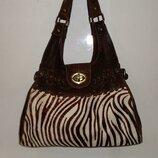 Шикарная сумка из натуральной кожи aleanto