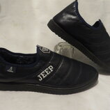 Ботинки туфли на меху