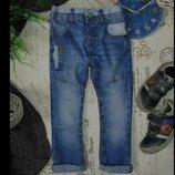 3-4года.бомбезные джинсы next.mега выбор обуви и одежды