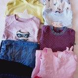 комплект брендовой одежды на девочку 3-4 года 10 вещей