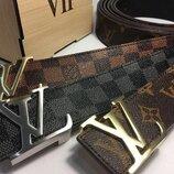 Ремень в стиле Louis Vuitton, Луи Виттон, унисекс