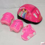 Защита для скейта, роликов, самоката combo розовый. В ассортименте