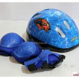 Защита для скейта, роликов, самоката combo синий. В ассортименте