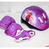 Защита для скейта, роликов, самоката combo фиолетовый. В ассортименте