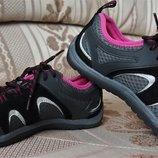 Супер удобные, стильные кроссовки, спортивные туфли Lands 'End Сша р.38,5 стелька 25 см
