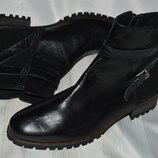 Стильні ботинки кожа vitti love іспанія размер 41, черевики шкіра