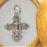 Крестик серебро 925 проба 2,72 грамма
