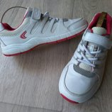 Кожаные кроссовки Clarks отличном сост, 22см