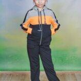 Детский трикотажный спортивный костюм оранж