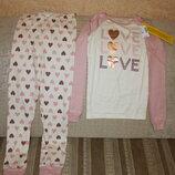 Новые пижамы девочке 6/7, 8, 10, 12 лет от Children's Place, Сша