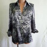Блуза блузка атласная Maria Grazia Seven, р. 46-48. пр-во Италия.